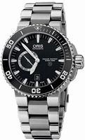 Oris Aquis Titan Small Second Date Mens Wristwatch 743.7664.7154.MB