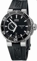 Oris Aquis Titan Small Second Date Mens Wristwatch 743.7664.7154.RS