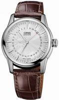 Oris Artelier Small Second Pointer Date Mens Wristwatch 744.7665.4051.LS