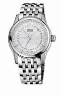 Oris Artelier Small Second Pointer Date Mens Wristwatch 744.7665.4051.MB
