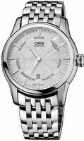Oris Artelier Small Second Pointer Date Mens Wristwatch 74576664051MB