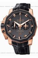Corum Admirals Cup Chronograph 50 LHS Mens Wristwatch 753.231.91-0F81.AN32
