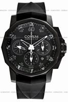 Corum Admirals Cup Black Challenge 44 Mens Wristwatch 753.691.98-F371-AN12