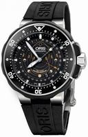 Oris Pro Diver Pointer Moon Mens Wristwatch 761.7682.71.54.RS