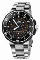Oris Pro Diver Pointer Moon Mens Wristwatch 761.7682.7134.SET