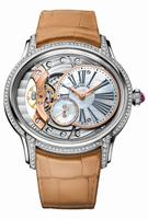 Audemars Piguet Millenary Hand Wound White Gold Ladies Wristwatch 77247BC.ZZ.A813CR.01