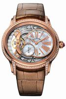 Audemars Piguet Millenary Hand Wound Rose Gold Ladies Wristwatch 77247OR.ZZ.A812CR.01