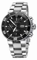 Oris Aquis Chronograph Mens Wristwatch 774.7655.4154.MB