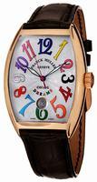 Franck Muller CintrexCurvx Mens Wristwatch 7851SCDTCOLDRM5