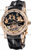 Ulysse Nardin Genghis Khan Tourbillon Mens Wristwatch 786-81