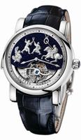 Ulysse Nardin Genghis Khan Mens Wristwatch 789-80