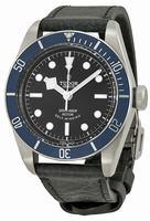 Tudor Heritage Black Bay Automatic Mens Wristwatch 79220B-BKSLS