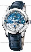 Ulysse Nardin Royal Blue Tourbillon Mens Wristwatch 799-80