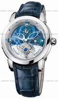 Ulysse Nardin Royal Blue Tourbillon Mens Wristwatch 799-81