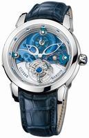 Ulysse Nardin Royal Blue Mystery Tourbillon 43mm Medium Wristwatch 799-91