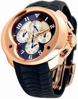 Franc Vila Chronograph Master Quantieme Mens Wristwatch 8.03-FVa129-A-RG-GS-rbr