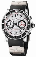 Ulysse Nardin Maxi Marine Diver Chronograph Mens Wristwatch 8003-102-3-916