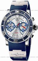 Ulysse Nardin Maxi Marine Diver Chronograph Mens Wristwatch 8003-102-3.91
