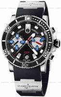 Ulysse Nardin Maxi Marine Diver Chronograph Mens Wristwatch 8003-102-3.92