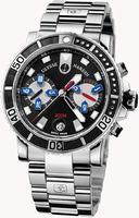 Ulysse Nardin Maxi Marine Diver Chronograph Mens Wristwatch 8003-102-7/92