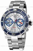 Ulysse Nardin Maxi Marine Diver Chronograph Mens Wristwatch 8003-102-7.91
