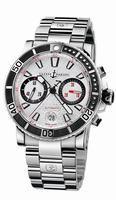 Ulysse Nardin Marine Diver Chronograph Mens Wristwatch 8003-102-7/916