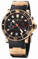 Ulysse Nardin Maxi Marine Diver Chronograph Mens Wristwatch 8006-102-3A.926
