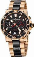 Ulysse Nardin Maxi Marine Diver Chronograph Mens Wristwatch 8006-102-8C.926
