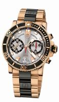 Ulysse Nardin Marine Diver Chronograph Mens Wristwatch 8006-102-8C/91