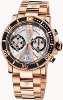 Ulysse Nardin Maxi Marine Diver Chronograph Mens Wristwatch 8006-102-8M/91