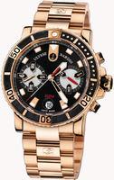 Ulysse Nardin Maxi Marine Diver Chronograph Mens Wristwatch 8006-102-8M/92