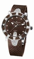 Ulysse Nardin Lady Diver Ladies Wristwatch 8103-101E-3C/15