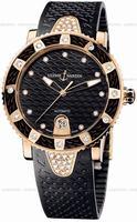 Ulysse Nardin Lady Diver Ladies Wristwatch 8106-101E-3C-12