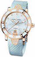 Ulysse Nardin Lady Marine Diver Ladies Wristwatch 8106-101E-3C/13