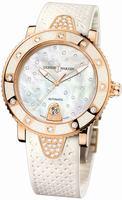Ulysse Nardin Lady Marine Diver Starry Night Ladies Wristwatch 8106-101E-3C/20