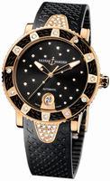 Ulysse Nardin Lady Marine Diver Starry Night Ladies Wristwatch 8106-101E-3C/22