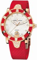 Ulysse Nardin Lady Diver Ladies Wristwatch 8106-101E-3C.10.16