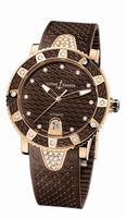 Ulysse Nardin Lady Diver Ladies Wristwatch 8106-101E-3C/15