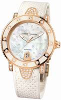 Ulysse Nardin Lady Marine Diver Starry Night Ladies Wristwatch 8106-101EC-3C/20