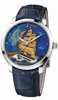 Ulysse Nardin Classico Enamel Mens Wristwatch 8150-111-2/AV