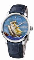 Ulysse Nardin Classico Enamel Mens Wristwatch 8150-111-2/BALT