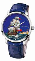 Ulysse Nardin Classico Enamel Mens Wristwatch 8150-111-2/CAESAR