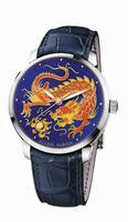 Ulysse Nardin Classico Enamel Mens Wristwatch 8150-111-2/DRAGON