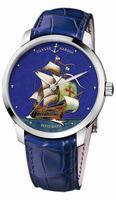 Ulysse Nardin Classico Enamel Mens Wristwatch 8150-111-2/SM