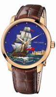 Ulysse Nardin Classico Enamel Mens Wristwatch 8152-111-2/CAESAR