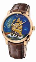 Ulysse Nardin Classico Enamel Mens Wristwatch 8156-111-2/AV