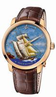 Ulysse Nardin Classico Enamel Mens Wristwatch 8156-111-2/BALT