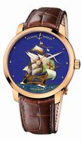 Ulysse Nardin Classico Enamel Mens Wristwatch 8156-111-2/SM