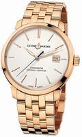 Ulysse Nardin Classico Automatic Mens Wristwatch 8156-111-8-91
