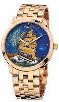Ulysse Nardin Classico Enamel Mens Wristwatch 8156-111-8/AV